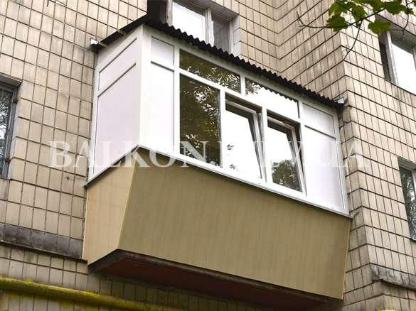 Ремонт балконов в Броварах
