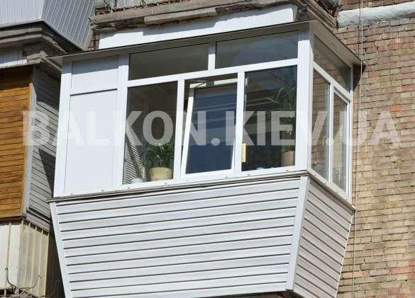 Заказ балконов «под ключ» в Киеве