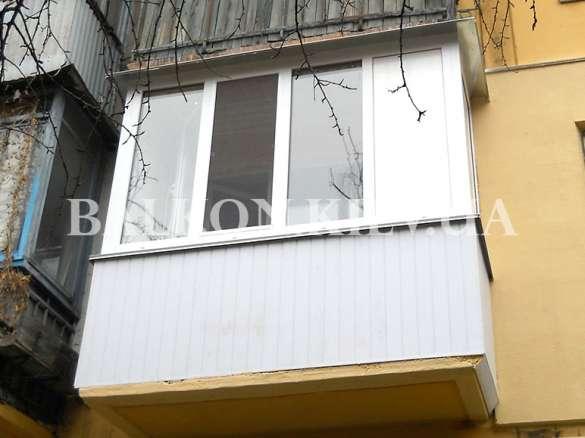 Стоимость ремонта на балконе
