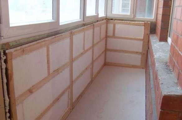 Утеплення балконом пінопластом і пінополістиролу