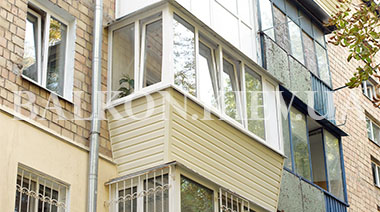 "Балкон ""Под ключ"""