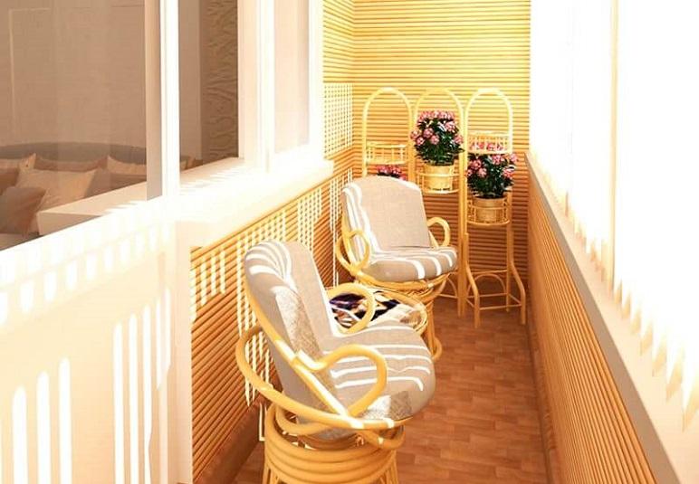 Обустройство маленького балкона в хрущевке: идеи и фото.