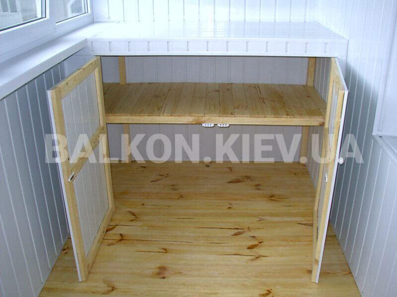 Шкаф из панелей пвх на балкон своими руками 92