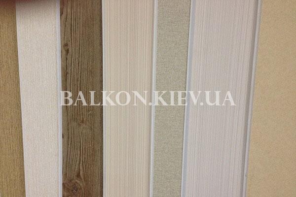 Обшить балкон ламинированными панелями
